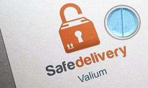 safe delivery valium