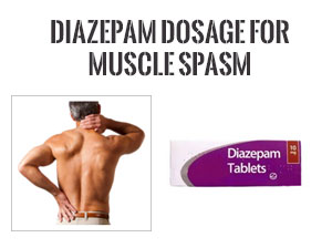 diazepam dosage for muscle spasm