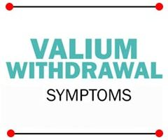valium withdrawal symptoms